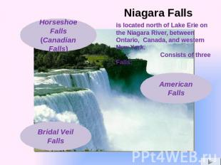 is located north of Lake Erie on the Niagara River, between Ontario, Canada, and