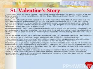 U201cStValentines Day. Worksheet: Real St Valentine