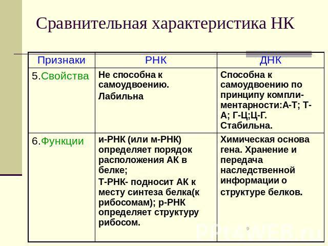 Сравнительная характеристика остапа и андрия внешность таблица