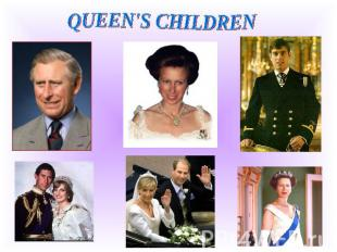 QUEEN'S CHILDREN