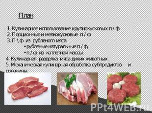 Презентация на тему полуфабрикаты из мяса