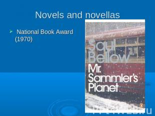 Novels and novellas National Book Award (1970)