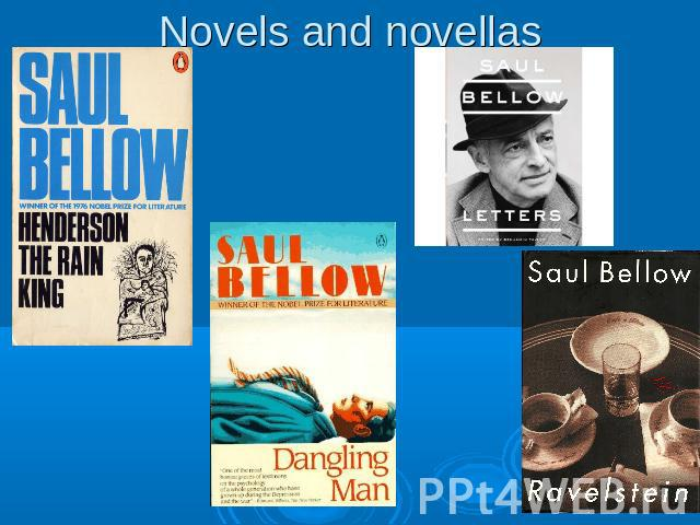 Novels and novellas