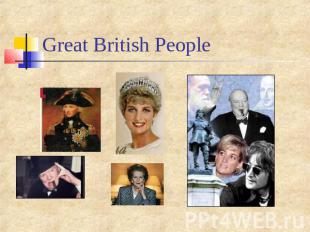 Great British People