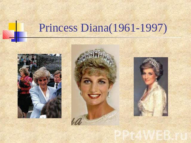 Princess Diana(1961-1997)