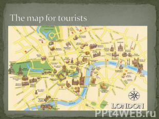 The map for tourists