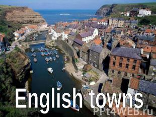 English towns