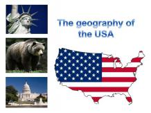 The geography of the USA