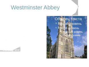 Westminster Abbey An architectural masterpiece of the thirteenth to sixteenth ce