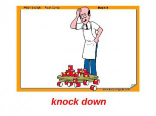 knock down