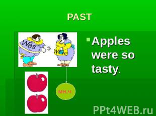 PASTApples were so tasty.
