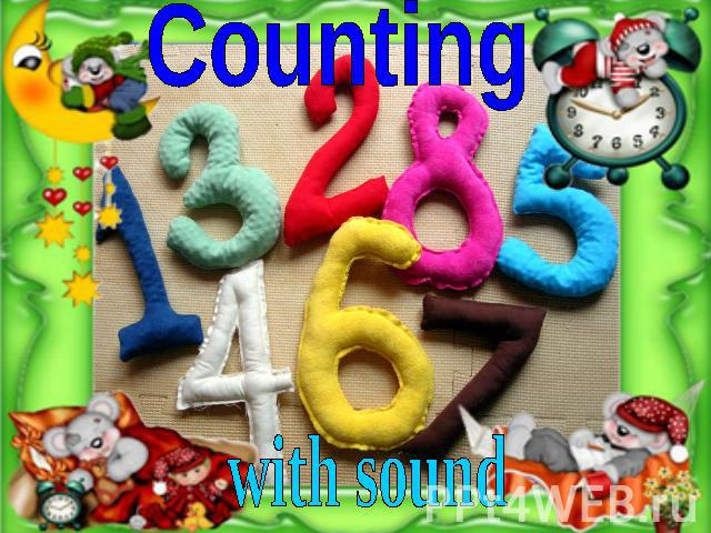 Counting with sound