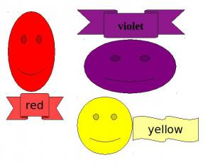 violet red yellow