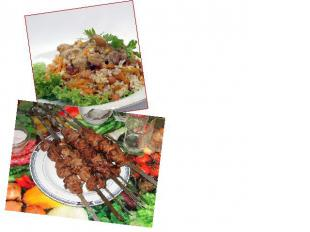Russian cuisine was enriched by the cooking traditions of other nations - of Cau