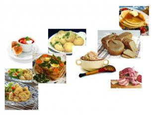 Traditional foods of Russian cuisine have some common ingredients, such as potat