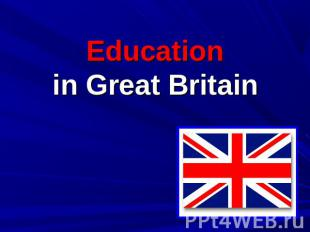 Education in Great Britain
