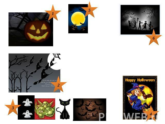 A Halloween PoemJack-o-lantern smiling brightWitches flying in the nightGhosts and goblins, cats and batsWitches with their funny hatsA full moon can't be beatAs we go out to Trick or TreatHappy Halloween!!