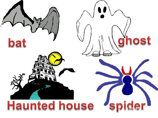 bat ghost Haunted house spider