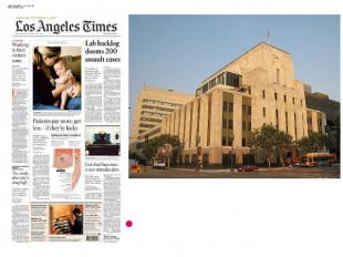 Los Angeles Times building Los Angeles Times- 907,997