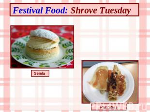 Festival Food: Shrove Tuesday Semla Pancakes