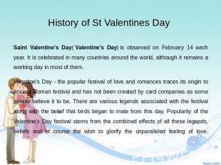 St Valentines Day History St Valentine Day History Catholic St