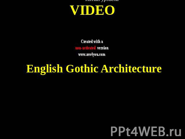 VIDEO English Gothic Architecture