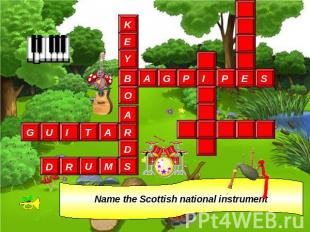 Name the Scottish national instrument