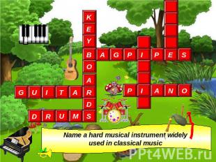 Name a hard musical instrument widely used in classical music