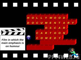 Film in which the main emphasis is on humour