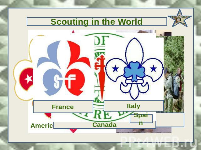 Scouting in the World