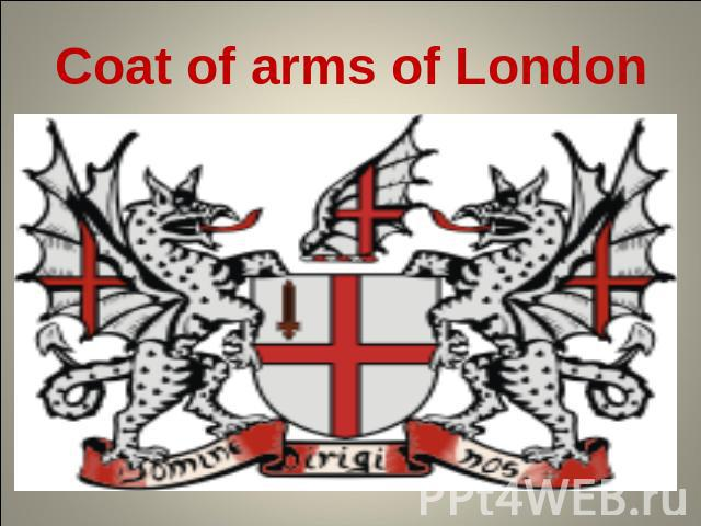 Coat of arms of London