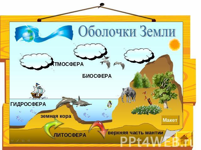 Земная кора и гидросфера
