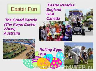 Easter Fun Easter Parades England USA Canada The Grand Parade (The Royal Easter
