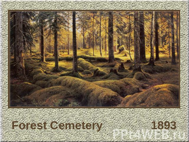 Forest Cemetery 1893