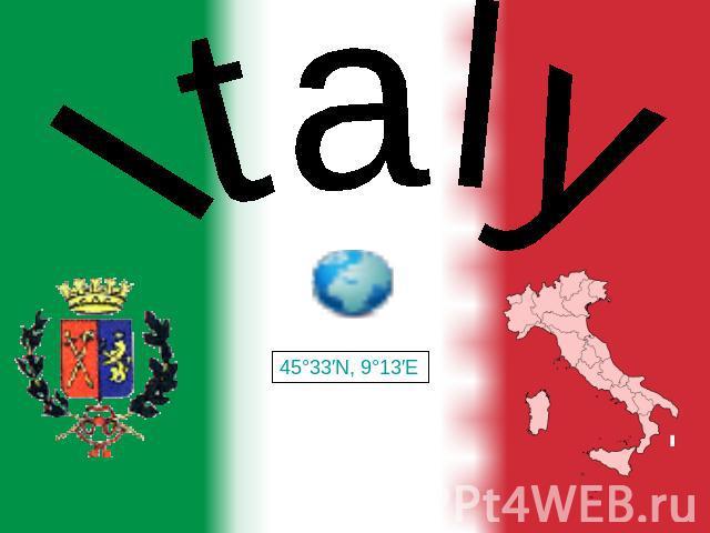 Италия на английском языке