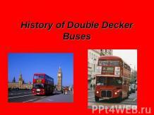 History of Double Decker Buses