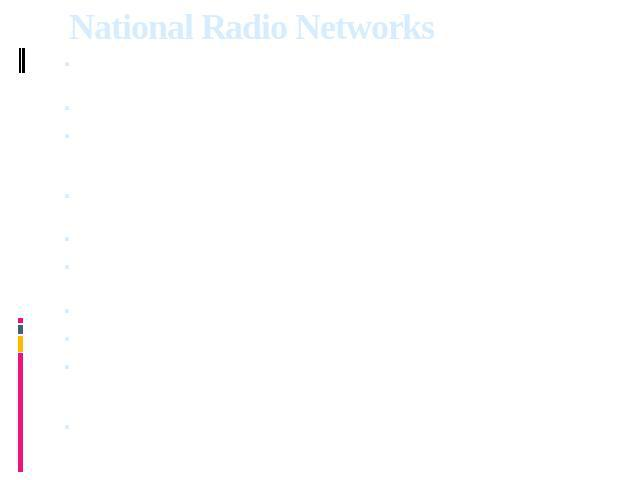 National Radio Networks   Arutz 7 Arutz Sheva - Israel National Radio is the only independant national radio station.    Galei Zahal Israel Defense Forces Radio. 20 AM and FM transmitters are in use.    KOL Educational Radio Stations Several station…