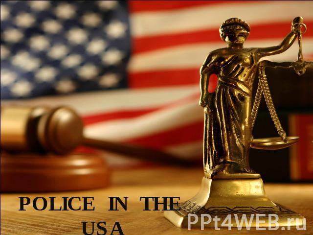 Police in the USA