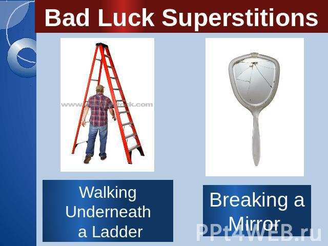 an overview of superstitions