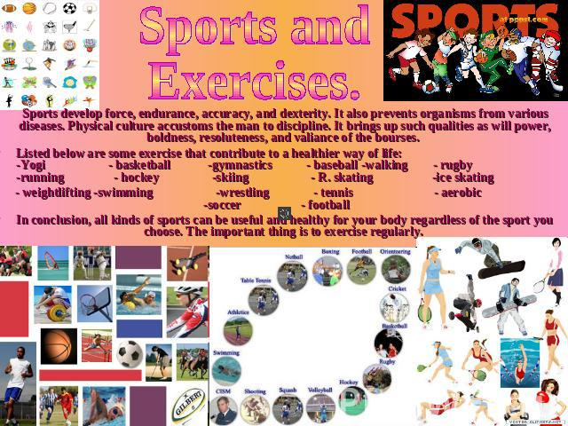 sports and healthy way of life Health health, sport and and can help to maintain quality of life and a number of factors influence the way in which sport and physical activity impacts on.