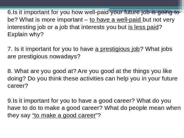what is more important for a Human resources - what is more important to you: the money or the work money is always important, but the work is the most important there is no better answer 28 answers are available for this question.