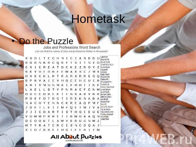 HometaskDo the Puzzle
