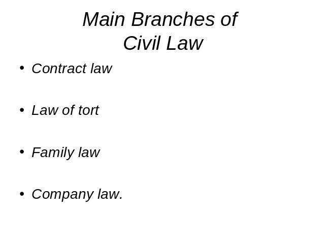 blaw law of tort
