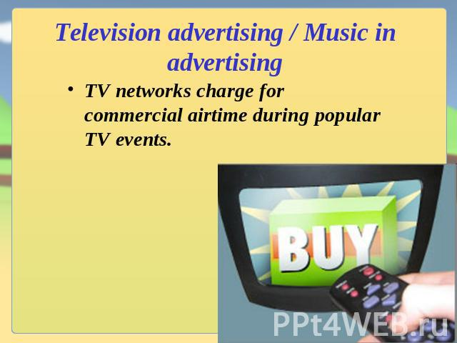 the mode of advertising and the television commercials in the united states Can the strategy of negative political advertising developed in the united states television advertising in canadian advertising: the attack mode on.