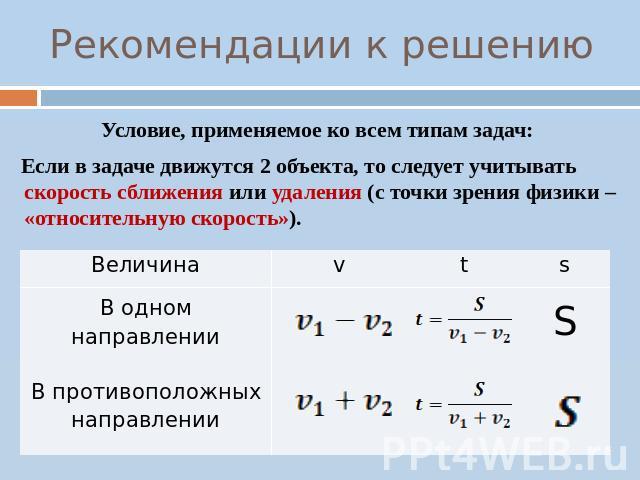 Относительная скорость задачи с решением по физике теории и я вероятности решение задач i